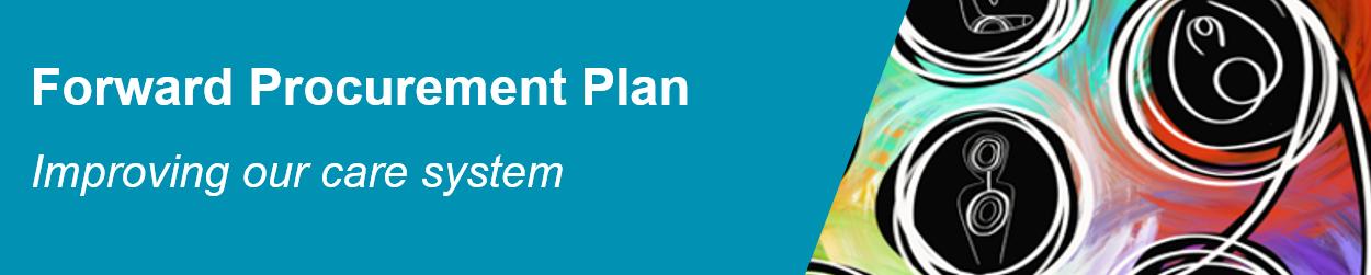 Forward procurement plan