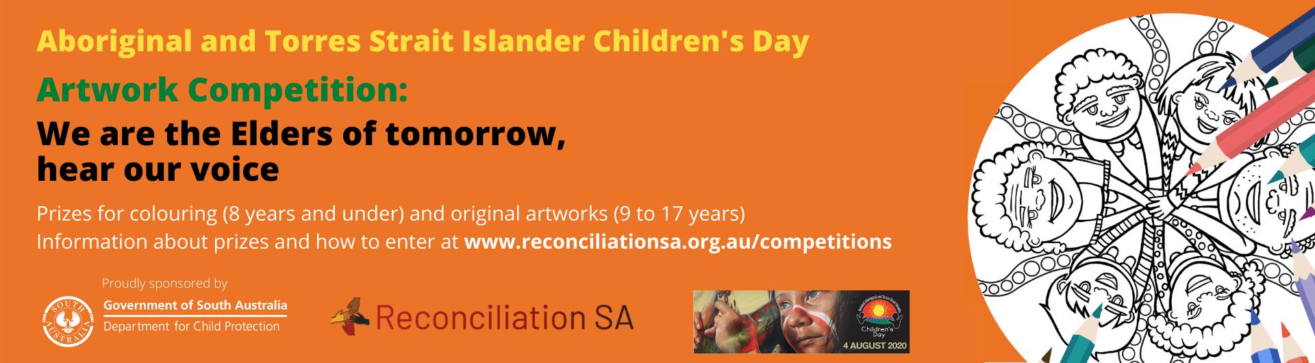 Aboriginal and Torres Strait Islander Children's Day 2020 Artwork Competition –