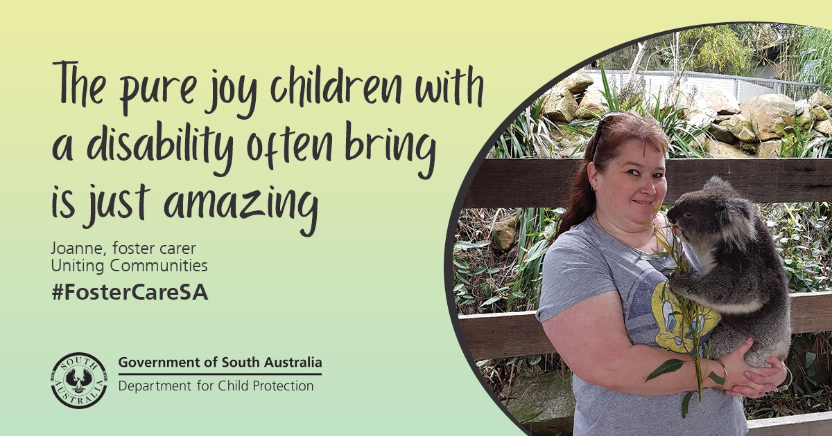 The pure joy children with a disability often bring is just amazing